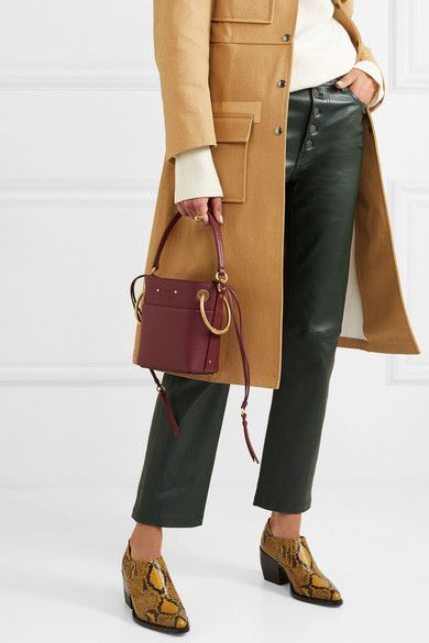 51a7ddfdc3acc Chloé - Roy mini leather bucket bag | My Style | Bags, Bucket bag, Chloe