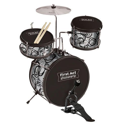 Drums At Toys R Us : First act discovery jr drum set silver fao schwarz