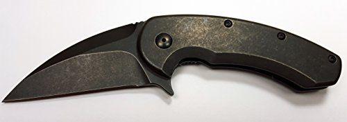 Brous Blades SSF-XL Framelock Full Acid Stone Wash