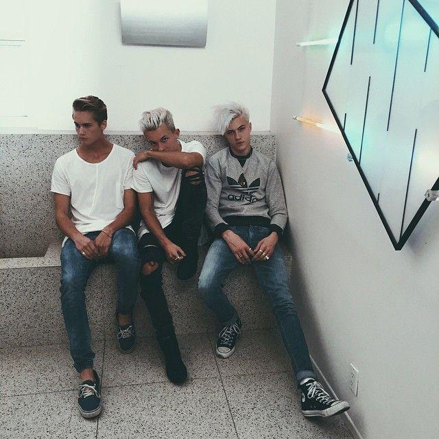 Lucky Blue Smith, Neels Visser & Jorden Keith