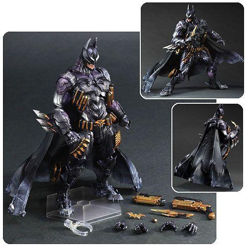 DC Comics Batman Armored Variant Play Arts Kai Action Figure - Square-Enix - Batman - Action Figures at Entertainment Earth