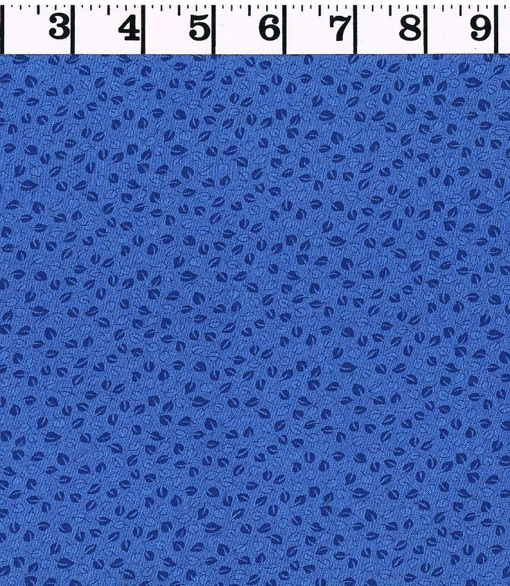 Blue 100% Cotton Fabric QUILTING Quilt Material BTY Clothing Decor Kids Drapes #Unbranded