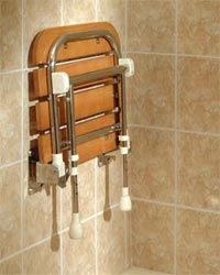 Delightful Folding Shower Seats, Fold Up Shower Bench, Handicapped Accessible ADA Shower  Chairs