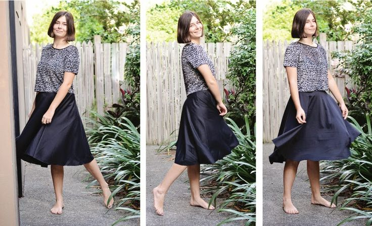 Pattern Emporium: PATTERN HACK: STRETCH SKATER SKIRT