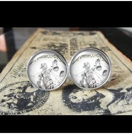 Metallica ...And Justice Album Cover Cuff Links Men, Weddings,Grooms, Groomsmen,Gifts,Dads,Graduations