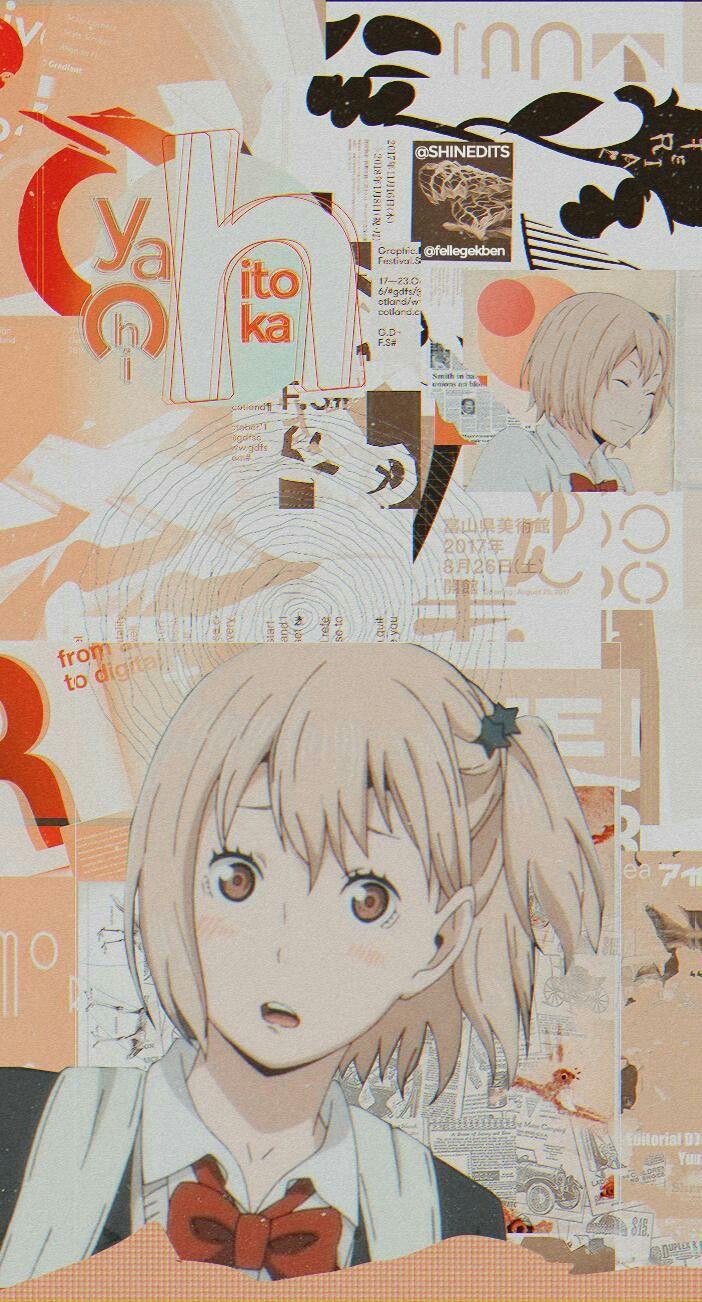 Wallpaper Hitoka Yachi Cute Anime Wallpaper Haikyuu Anime Hd Anime Wallpapers