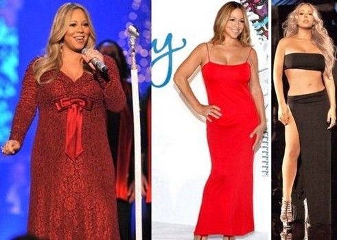 MARIAH CAREY WEIGHT LOSS BEFORE AND AFTER DIET WORKOUT PLAN