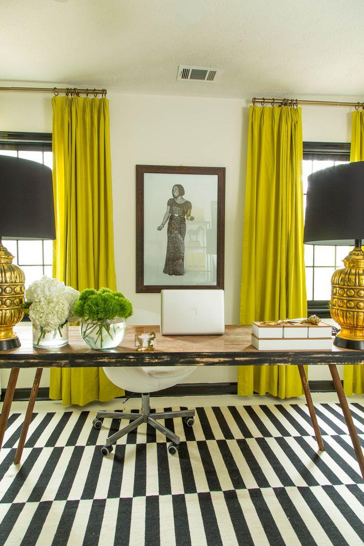 travel design home office. Dayka Robinson Designs Home Black \u0026 White Office Makeover Vertical Travel Design