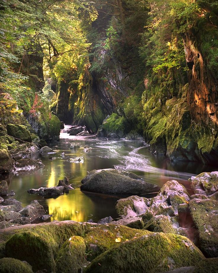 The Fairy Glen, Scotland