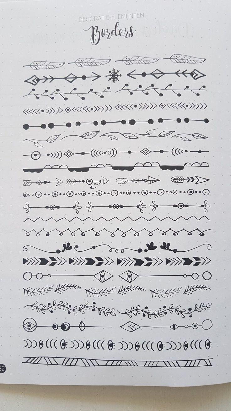hand drawn borders – text deviders – #borders #deviders #Drawn #Hand #text –  – Alexandra's Bild Blog