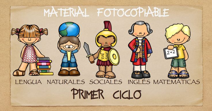 TODAS LAS ÁREAS Material fotocopiable PRIMER CICLO PRIMARIA
