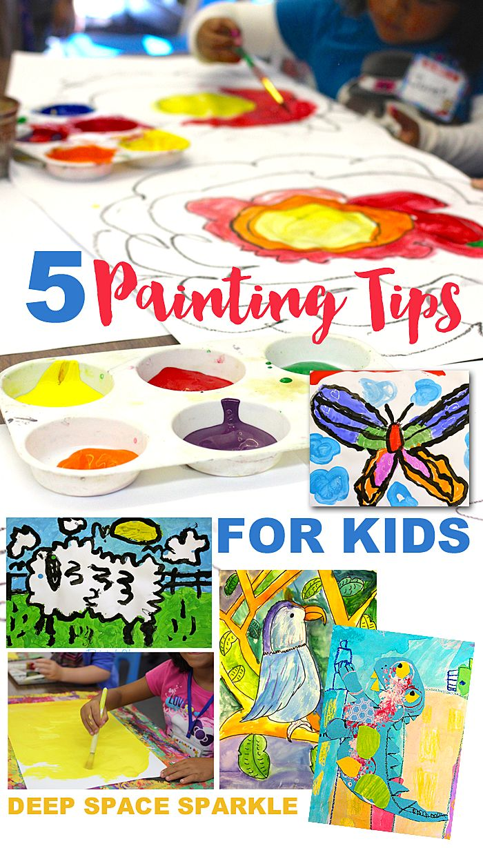 5 Painting Tips for Kids