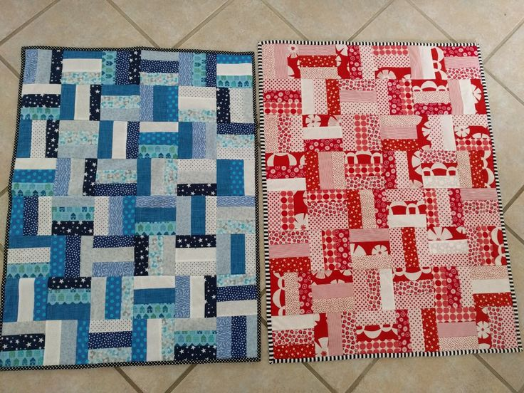 Baby quilts for twins july 2017