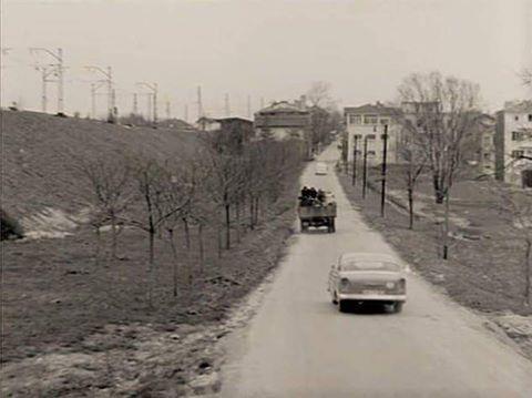 Geçmiş tarihte Florya-Yeşilköy yolu...