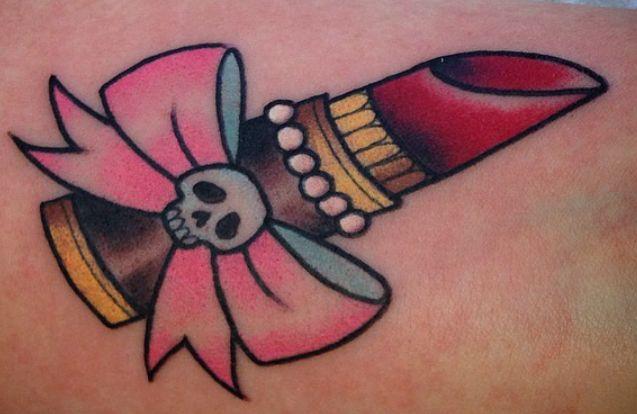 Lipstick tattoo - Ebony Mellowship (NSW)