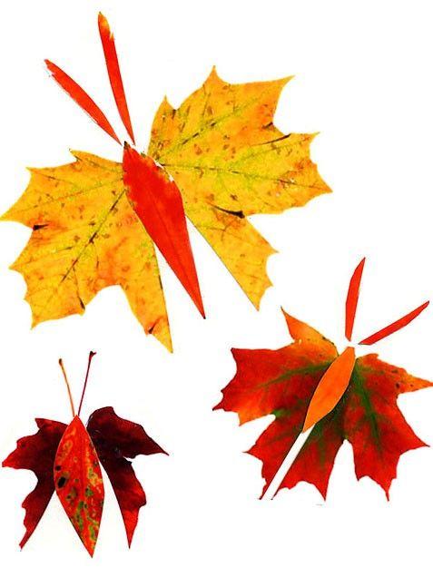 diy hojas otoño