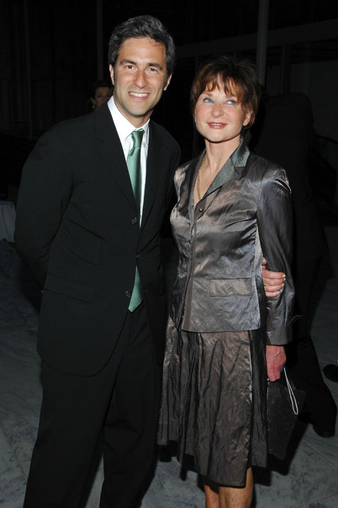 Michael Govan Suzanne Page Dinner For RICHARD SERRA SCULPTURE FORTY YEARS Hosted By MoMA And LVMH The Museum Of Modern Art NYC O May 29 2007