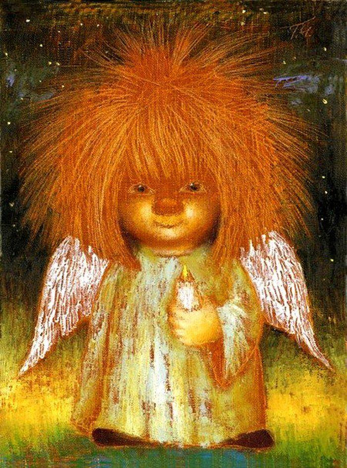Картинки с ангелами смешные