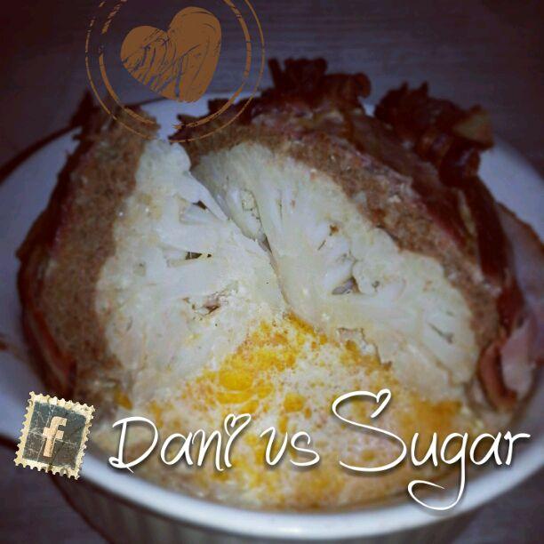 Dani vs Sugar: ♥ Hackfleisch Blumenkohl Kugel