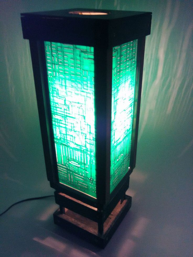 Repurposed Tech Circuit Boards Diy Frame Togather To