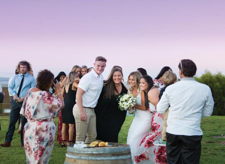 Beautiful Bride Brooke and her best friends on the Bayview Lawn   #silverwaterresort #resortwedding #outdoorceremony #phillipislandwedding #marqueewedding #regionalvictoria #sanremo #phillipisland