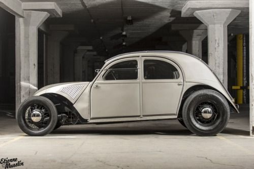 Olli's 2 CV Hot Rod