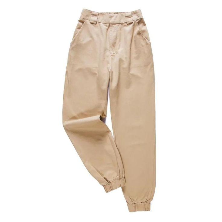 High waist pants for ladies