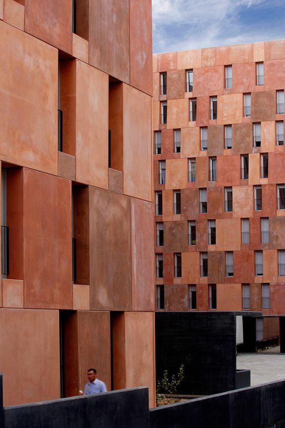 sir david chipperfield architects / viviendas de la empresa municipal de la vivienda, villaverde madrid