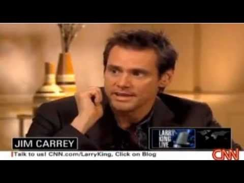 Jim Carrey Speaks About 5 HTP With Larry King - YouTube