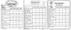 Best 25+ Kindergarten rubrics ideas on Pinterest