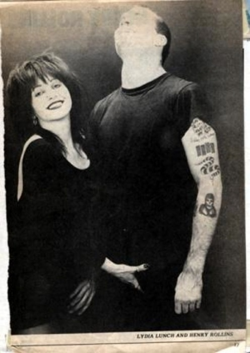 henry rollins & Lydia Lunch
