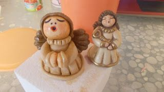 Singing Angel Tutorial Le Torte di Serena: TUTORIAL: Angelo Thun in pasta di zucchero