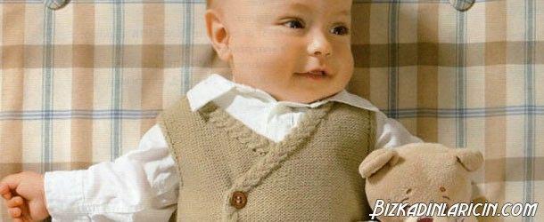 En Güzel 25 Örgü Erkek Bebek Yeleği Örneği - http://www.bizkadinlaricin.com/en-guzel-25-orgu-erkek-bebek-yelegi-ornegi.html  Yelekler özellikle kış aylarında bebeklerihasta olmaktan koruyan ideal giysilerdir. Erkek bebek örgü yelek modelleri 2015 modası resim galerimizde birbirinden güzel bebek yeleklerine yer verdik. Beyaz, mavi, yeşil tonları oğlunuza çok yakışacaktır. Dilerseniz bu resimlerden beğendiğinizi kendiniz örgü bilmeseniz de başkasına