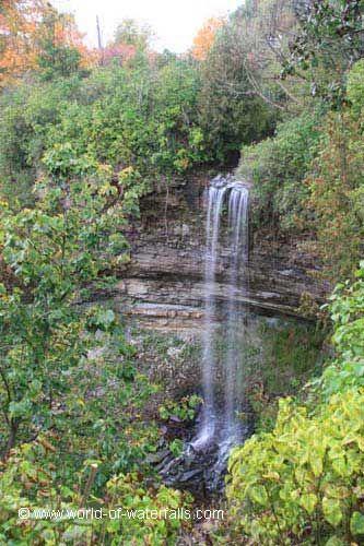 Borer's Falls near Waterdown / Hamilton, Ontario, Canada