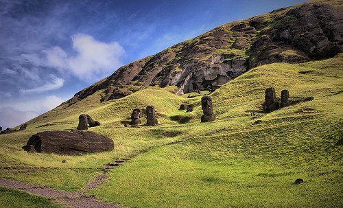 Rano Raraku / Rapa Nui (Isla de Pascua)