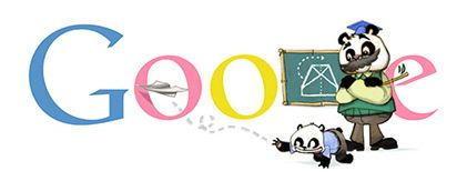 Google Doodles, September 10, 2012, Teachers' Day 2012 (China)