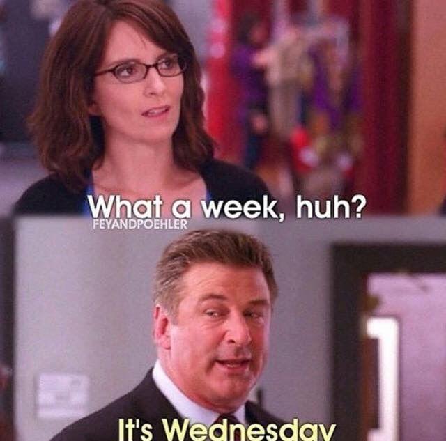 Testing week in a nutshell