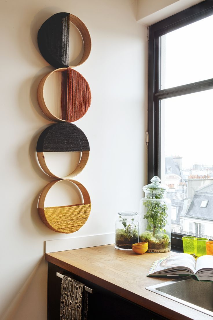Pin By Aytekin On Bricolagedeco Decor Diy Wall Decor Interior Homemade wall decoration for living room