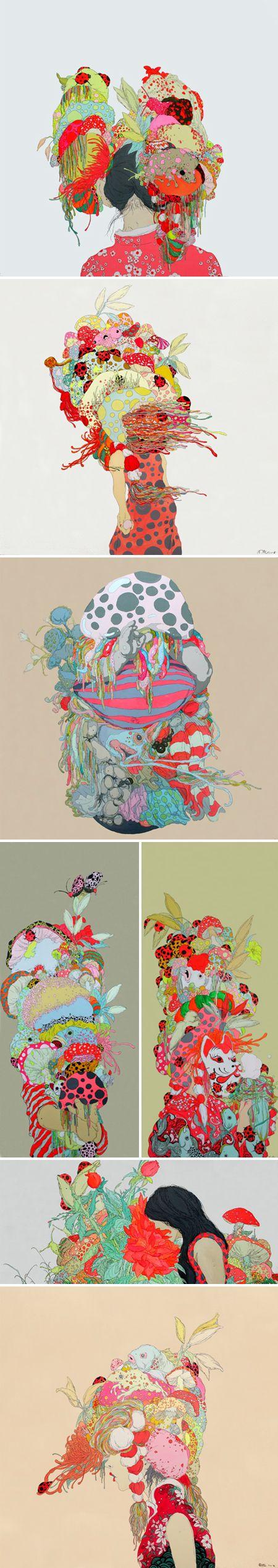 paintings by zhou fan
