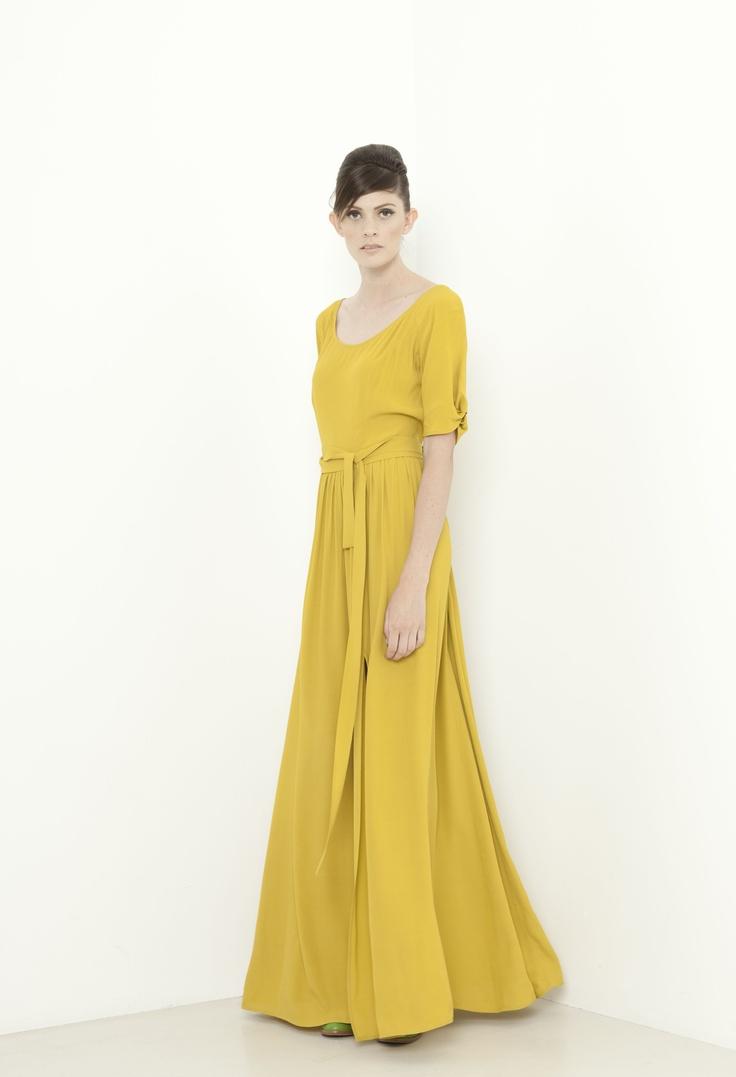 Dorchester Dress - zest