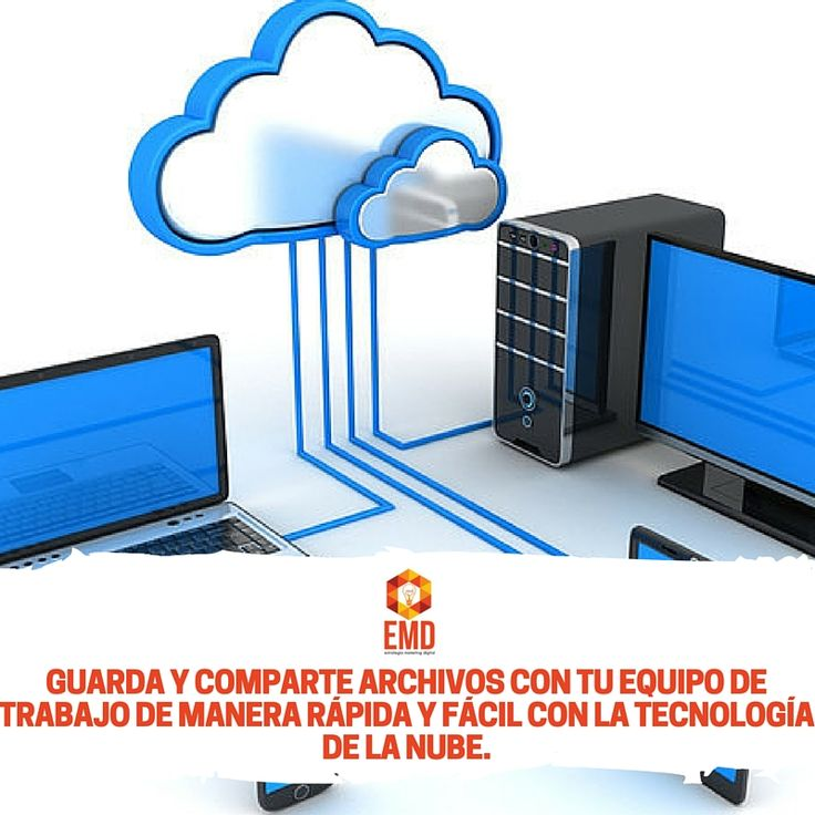 No te quedes en el pasado, la tecnología de la nube es el futuro para tu empresa. #EMD #MarketingDigital #Servicios