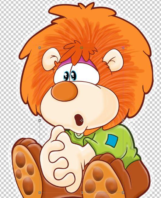 Ilustración León desarrollado para Isaías 43 Ltda