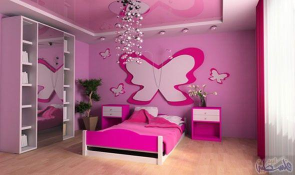 أخطاء معروفة نسقط فيها عند تحديد ألوان حوائط المنزل Girl Bedroom Walls Girl Bedroom Designs Small Room Design