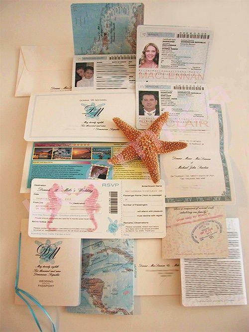 wedding invitations travel themed - Travel Themed Wedding Invitations