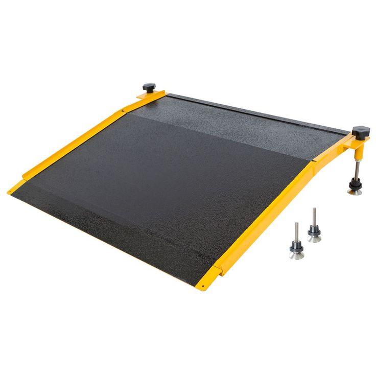 Aluminum Adjustable Curb Ramp - 400 lb Capacity