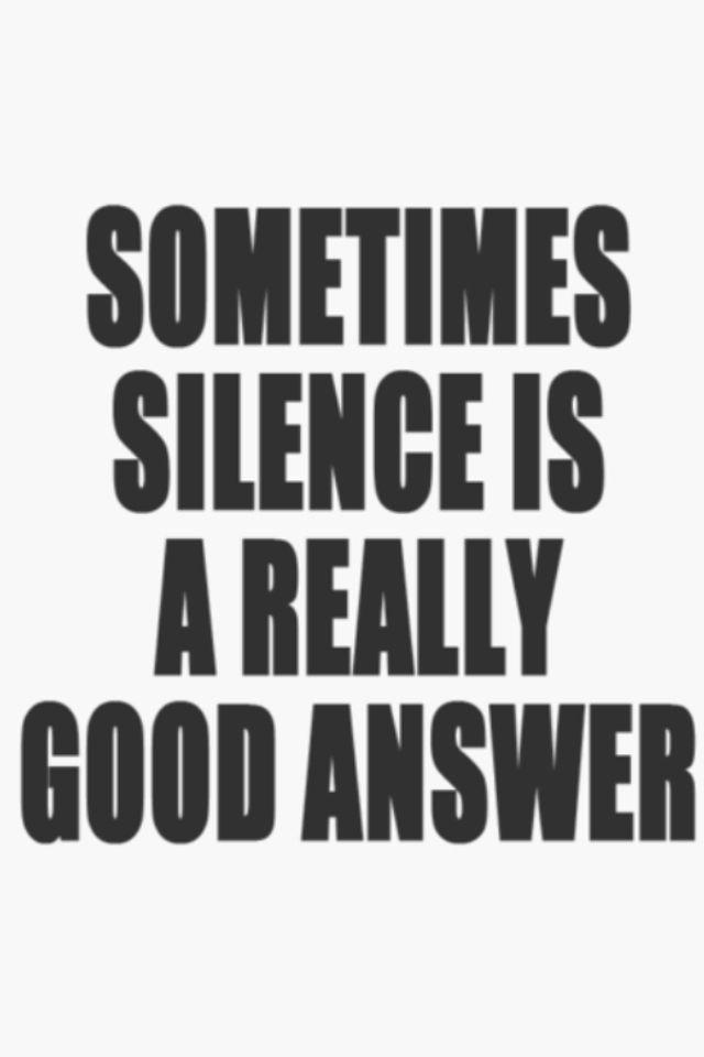 If you can't say something nice...  I stayed quiet when others were being hurtful based on untrue accusations and I couldn't beat to hurt them as they hurt me.