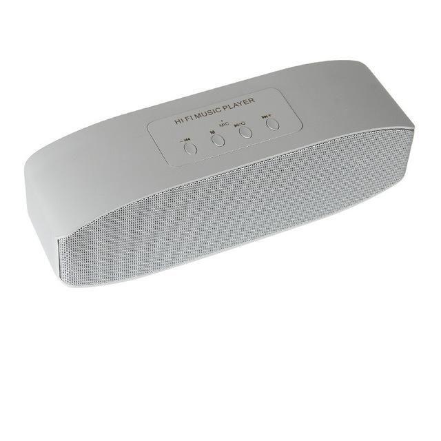 AAA+ High Quality LED Bluetooth Speaker dual speakers FM sound box subwoofer portable caixa de som portatil alto falante altavoz