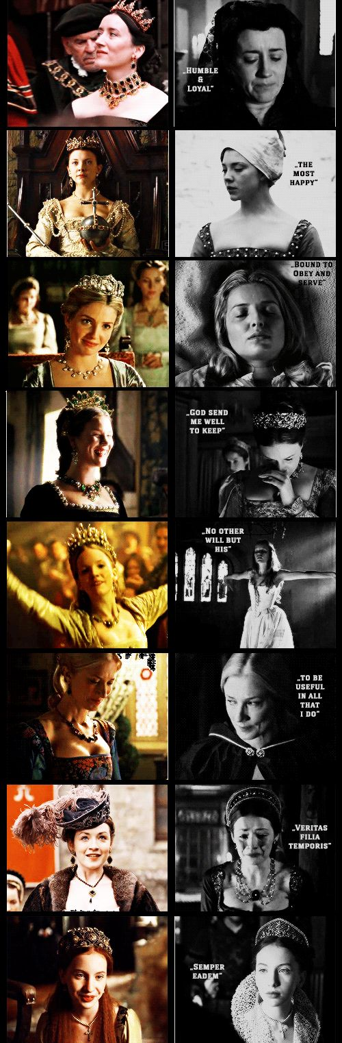 Tudor Women + Mottos