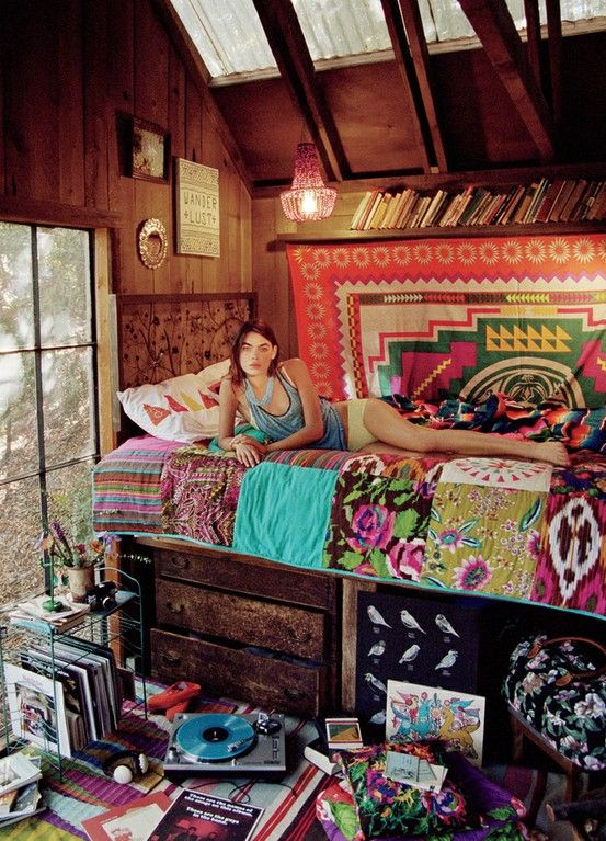 1000 ideas about Hippy Room on Pinterest