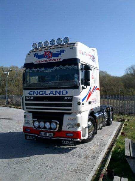 Steve Dee - DAF Truck
